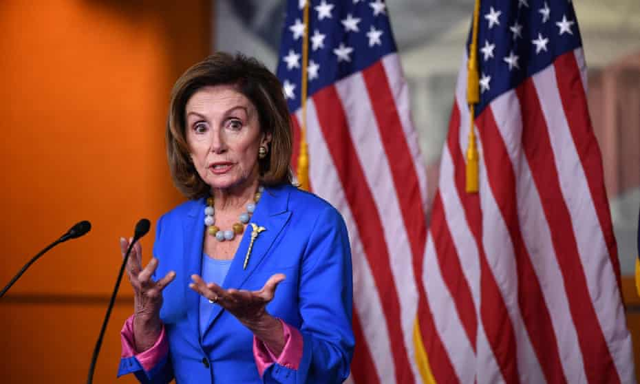 Nancy Pelosi on Thursday. Assurances of progress offered little comfort to nervous Democrats on Capitol Hill, where a series of legislative and fiscal deadlines loom.