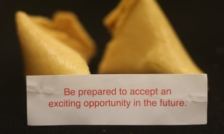 """""""Be prepared to accept an exciting opportunity in the future""""."""