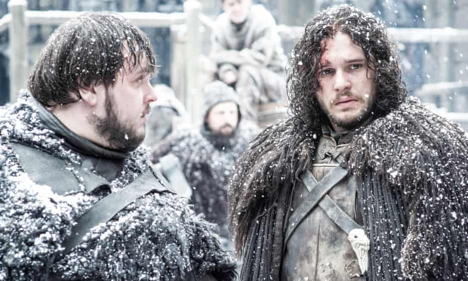 Life in the freezer: a chilly scene from Game of Thrones