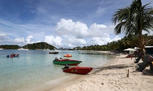 Mayreau beach, St Vincent and the Grenadines.