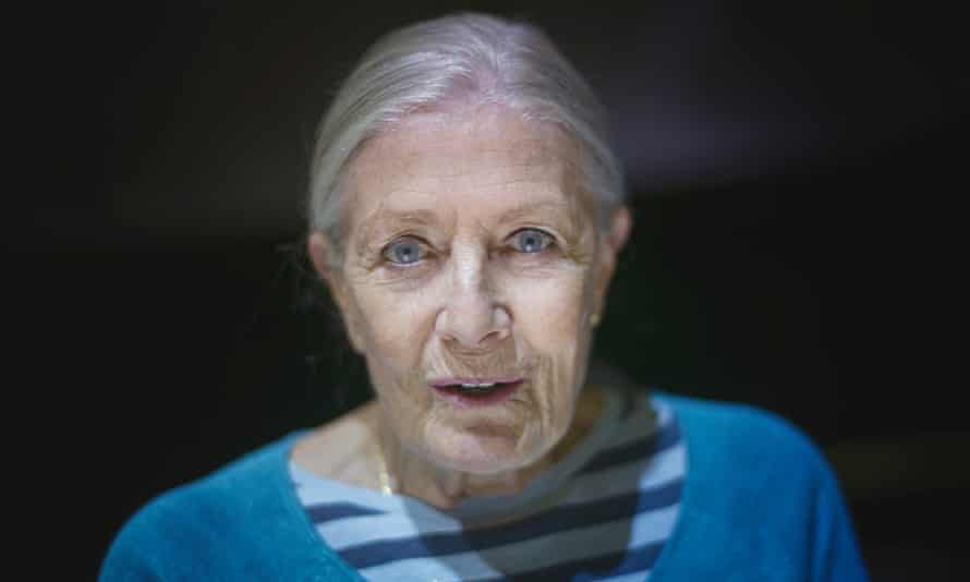 Vanessa Redgrave, whose directorial debut will screen at Cannes.