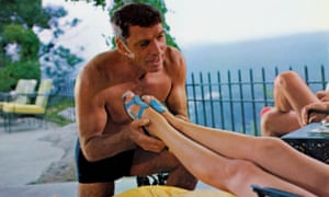 Burt Lancaster in the 1968 film version of John Cheever's The Swimmer.