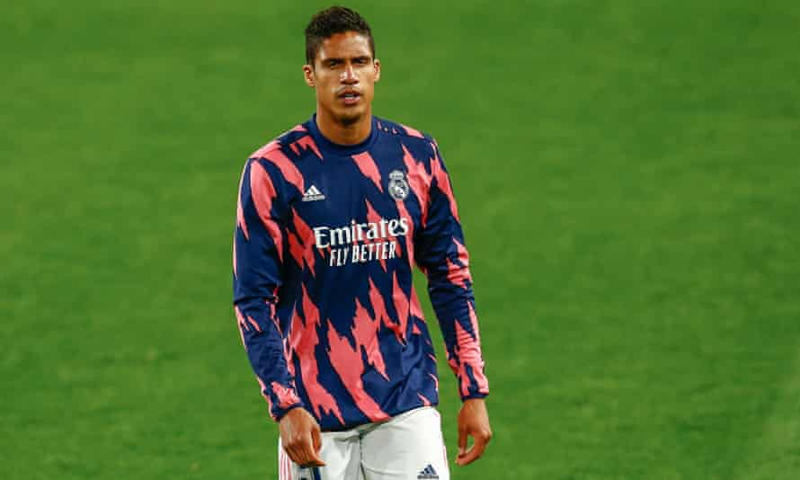 Raphaël Varane has been at Real Madrid since 2011 and has one year left on his contract.