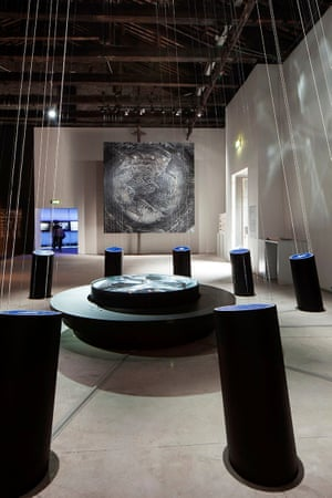 Slovenia – Living with WaterWater is essential to life, but also a threat if not managed appropriately. With global warming threatening to submerge many urban areas, Slovenia's pavilion offers a timely meditation on how this precious resource might be managed without overwhelming us.