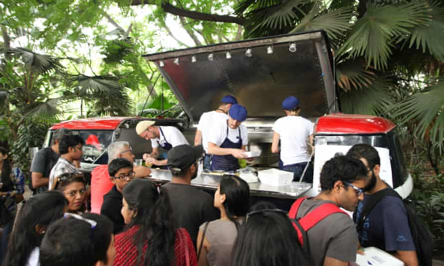Le Casse-Croûte, Bangalore's first French food truck