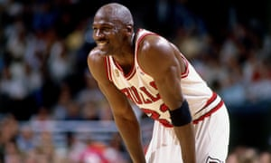 Michael Jordan won six NBA titles with the Chicago Bulls