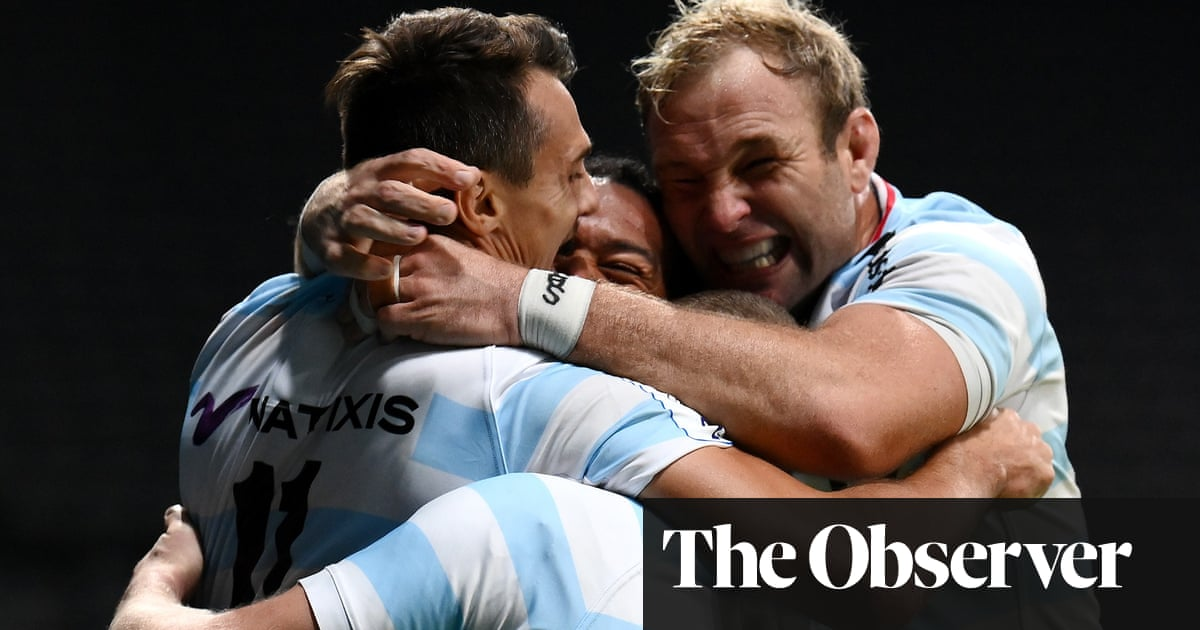 Saracens era ends in agony as Russell and Imhoff shine for Racing 92