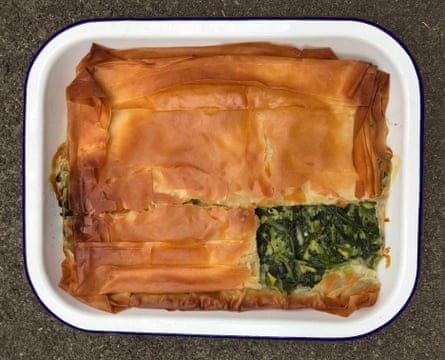 Christina Mouratoglou and Adrien Carré of London restaurant Mazi give use nettles and cavolo nero as well as spinach.