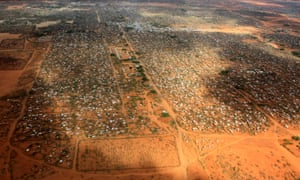 Dadaab viewed from the air
