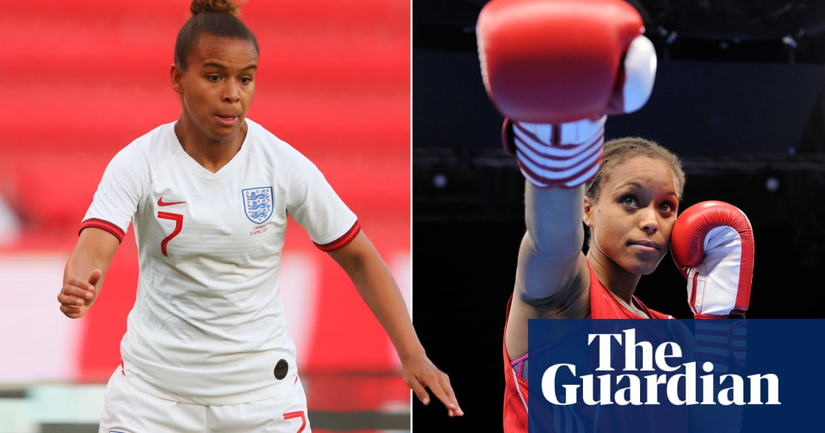 Passing the torch: Team GB's Nikita Parris follows her sister into Olympics