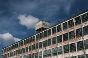 The Bata shoe factory closed in 2005.