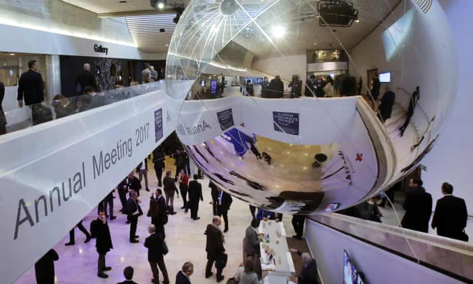 Win-winners … the World Economic Forum in Davos, Switzerland