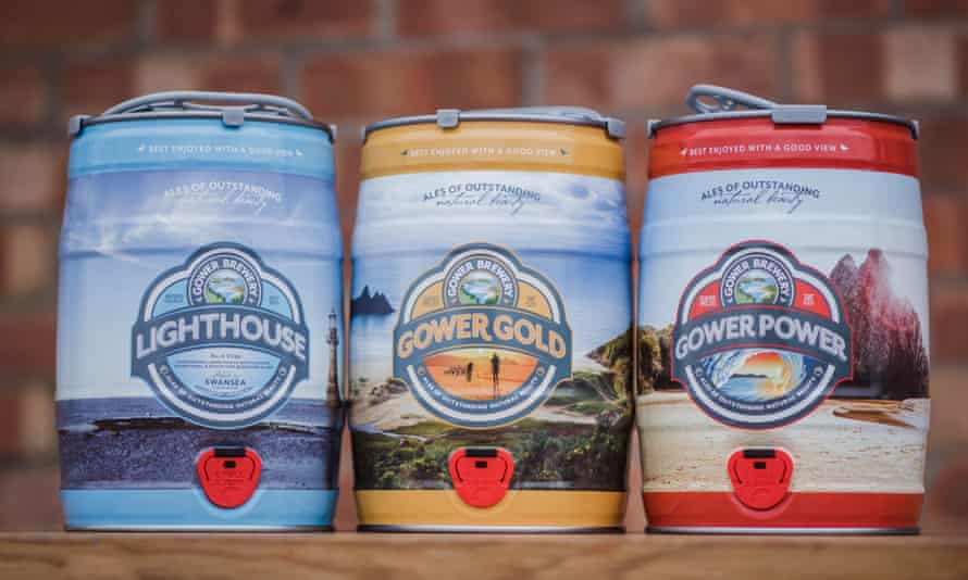 Beers from Gower Brewery