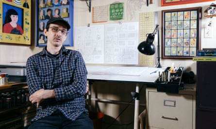 Nick Drnaso – the first graphic novelist ever to be nominated for the Man Booker prize.