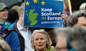 A remain supporter in Scotland