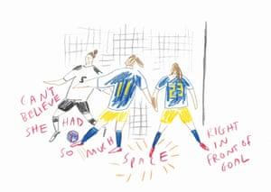 Germany v Sweden by Laylah Amarchih.