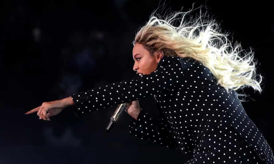Beyoncé … skilled Maps reader.