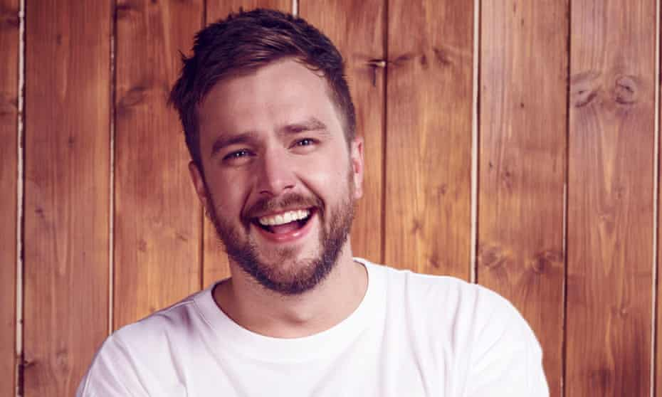 Back to reality ... Iain Stirling.