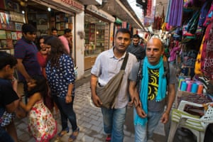 Zahid and Ranjan are among the few openly gay couples in Delhi