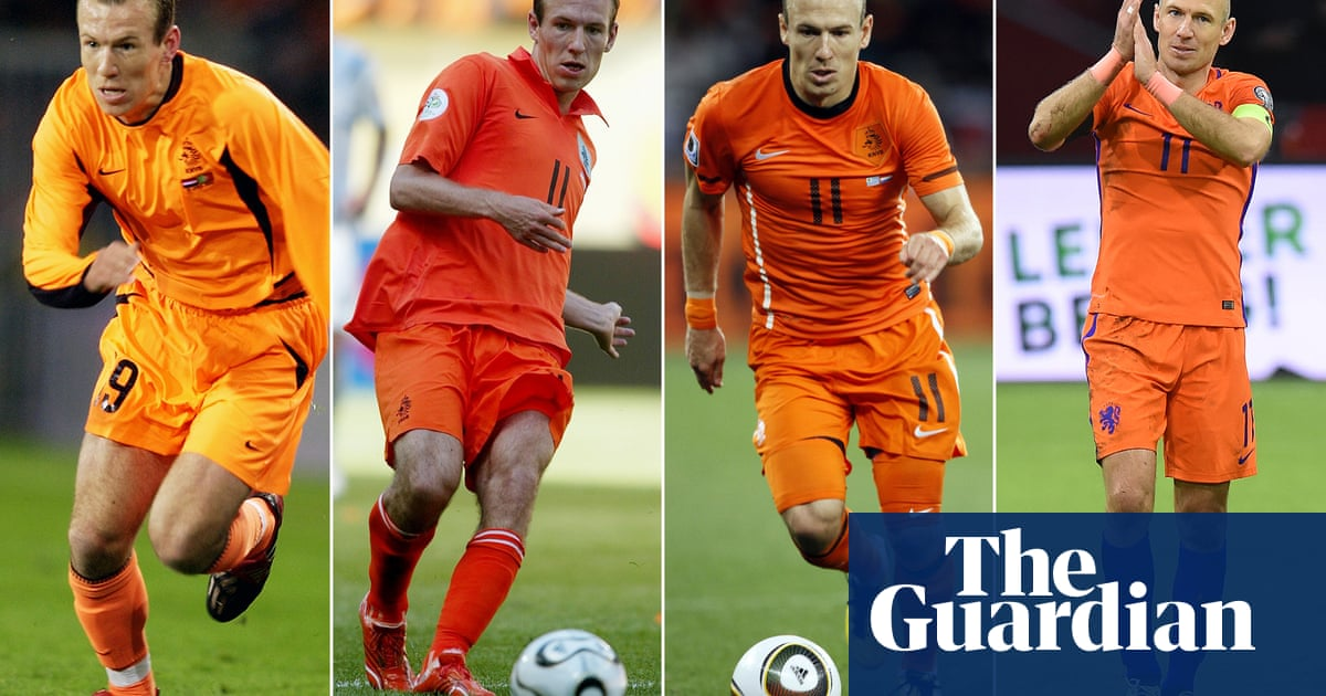 9c6e4f2e8 Arjen Robben  how Holland will miss the wonderful master of cutting inside