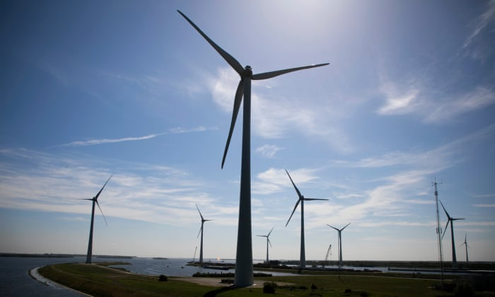 Dutch fishermen to sail fleet into Amsterdam in wind turbine