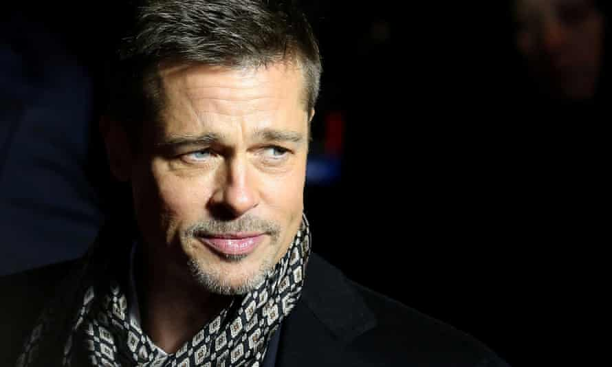 Brad Pitt at the premiere of the film Allied in Madrid, Spain on 22 November 2016.