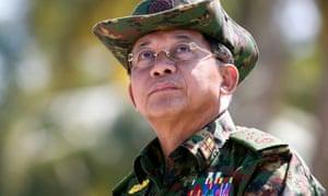 No steps have been taken against Myanmar's commander-in-chief, Senior General Min Aung Hlaing.