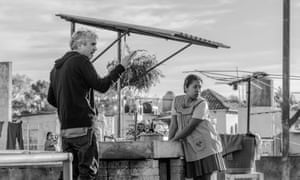 Alfonso Cuarón and Yalitza Aparicio