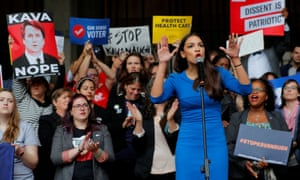 Alexandra Ocasio-Cortez has become a leader of the resistance to Donald Trump. But can she lead the Democratic party?
