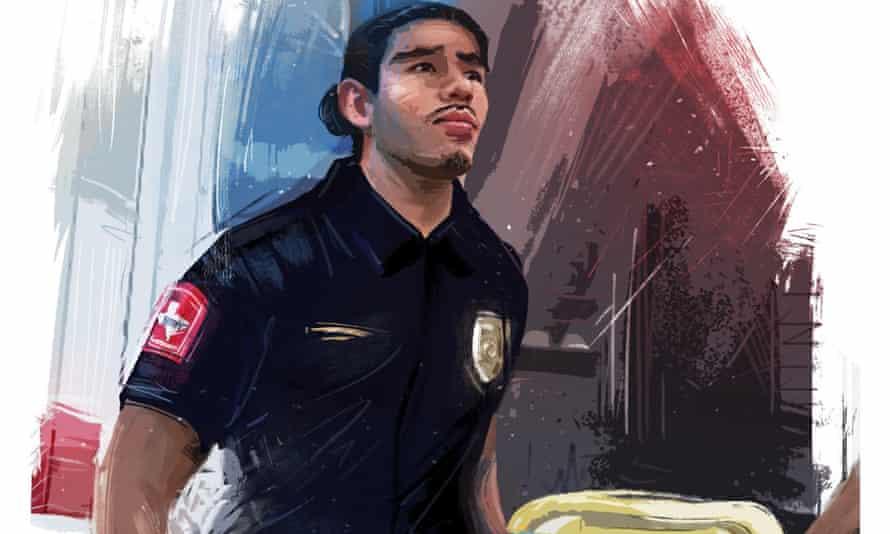 Jesus Contreras is a Daca recipient who is an EMT on the frontline.