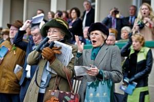 Cheltenham spectators 17 March 2010