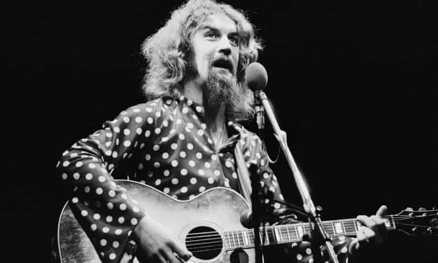 Billy Connolly in 1975.