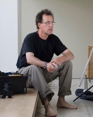 Self-portrait by Peter Marlow in London (2008).