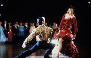 Paul Mercurio and Tara Morice as Scott and Fran in 1992's Strictly Ballroom. Photograph: Rank/Sportsphoto Ltd/Allstar