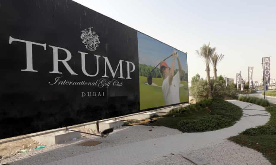 Donald Trump Home United Arab Emirates Dubai Middle East