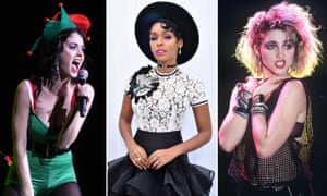 Katy Perry, Janelle Monáe and Madonna. Like Madonna three decades ago, Monáe's set a new bar for owning and extolling female sexuality.