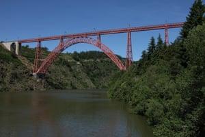 Garabit viaduct, Saint-Flour