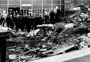 Only recently completed, the building was partially occupied at the time of the explosion, hence the low death toll.