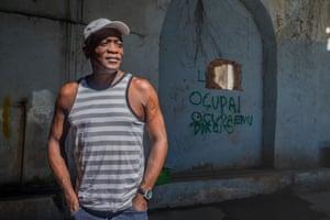 Roberto, a squatter at Quilombo da Gamboa