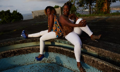 Youth and beauty in Monrovia – in pictures