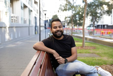 35-year-old data analyst Pritam Deb arrived in Australia from India in June 2019.