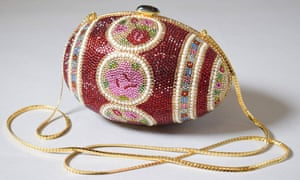 A 1983 'Fabergé Egg' evening bag, by Judith Leiber, is among the famous handbags featuring in a V&A museum exhibition.