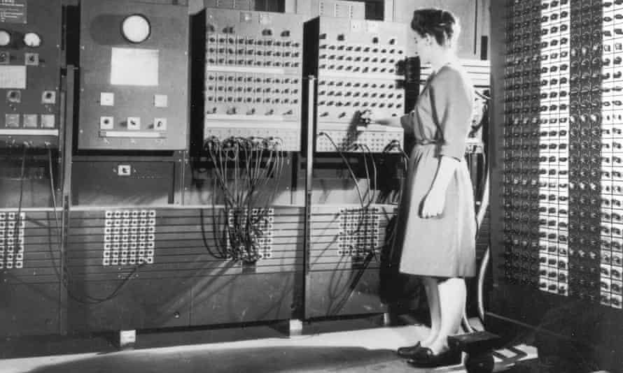 The ENIAC machine that John Von Neumann worked with.