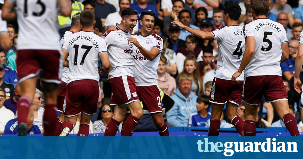 Chelsea v Burnley: Premier League – as it happened