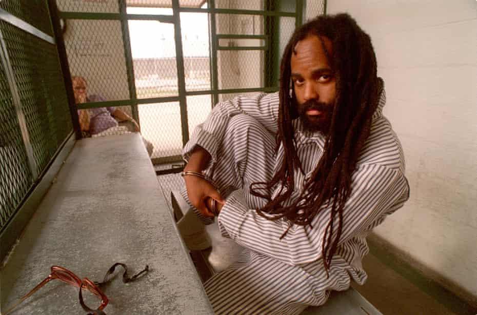Former Black Panther Mumia Abu-Jamal.