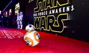 BB-8: set for a starring role at the Davos conference?