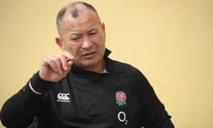 Eddie Jones is in Portugal with his squad ahead of the autumn Tests.