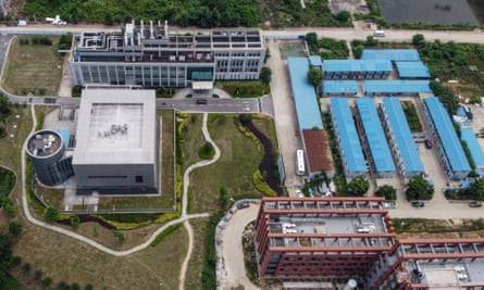 The Wuhan Institute of Virology, the source, according to conspiracy theorists, of the Covid-19 virus.