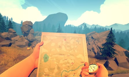 Firewatch looks like a survival sim, but what you're really grappling with is solutitude