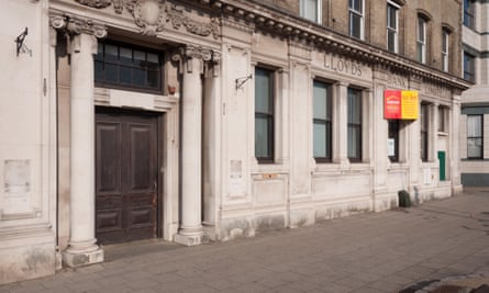 A former Lloyds Bank branch in Great Yarmouth